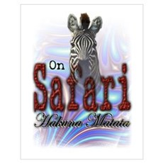On Safari Poster