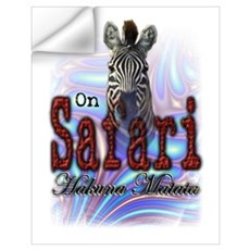 On Safari Wall Decal