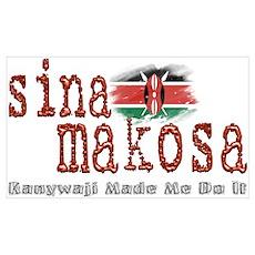 Sina Makosa Poster
