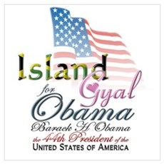 Island Gyal - Jamaica Poster