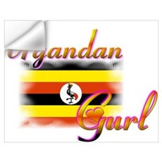 Uganda Gurl Wall Decal