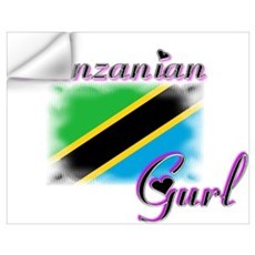 Tanzanian Gurl Wall Decal