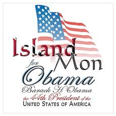 Island Mon - Trini & Tobago Poster