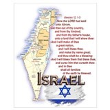 Israel Wrapped Canvas Art