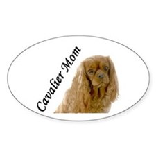 Cavalier Mom-Ruby Decal