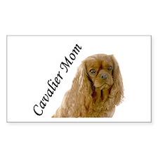 Cavalier Mom-Ruby Decal
