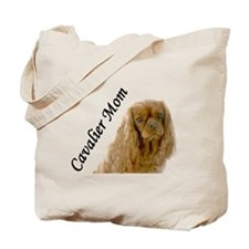 Cavalier Mom-Ruby Tote Bag