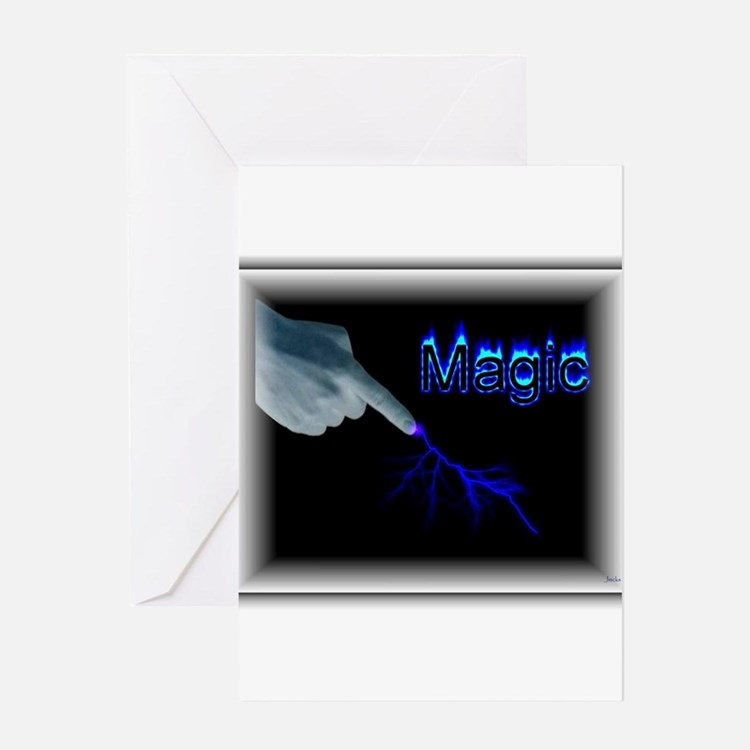 its magic Greeting Card