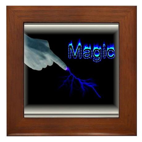 its magic Framed Tile
