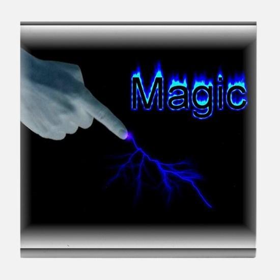 its magic Tile Coaster