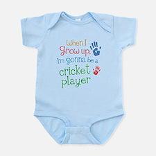 Kids Future Cricket Player Infant Bodysuit