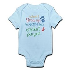 Kids Future Cricket Player Onesie