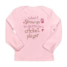 Kids Future Cricket Player Long Sleeve Infant T-Sh