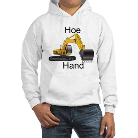 "Hoe Hand on front ""Diggin' Ditches Pimpin' Bitches"
