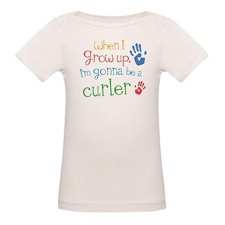 Kids Future Curler Organic Baby T-Shirt