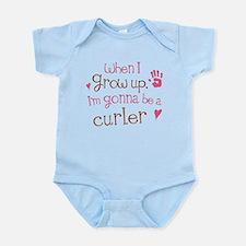 Kids Future Curler Infant Bodysuit