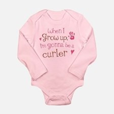 Kids Future Curler Long Sleeve Infant Bodysuit