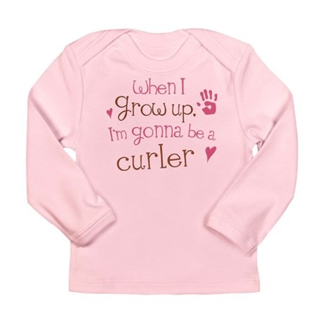 Kids Future Curler Long Sleeve Infant T-Shirt