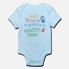 Kids Future Equestrian Rider Infant Bodysuit