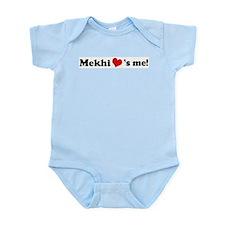 Mekhi loves me Infant Creeper