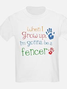 Kids Future Fencer T-Shirt
