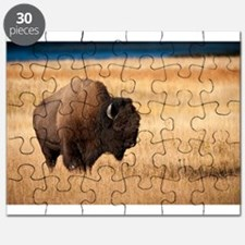 Cute Bison Puzzle