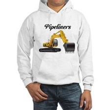 "Pipeliner on front ""Diggin' Ditches Pimpin' Bitche"