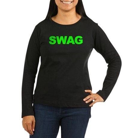 SWAG Women's Long Sleeve Dark T-Shirt