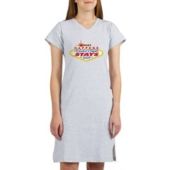 What Happens at Grandma and Z Women's Nightshirt