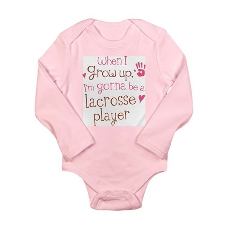 Kids Future Lacrosse Player Long Sleeve Infant Bod