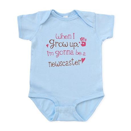Kids Future Newscaster Infant Bodysuit
