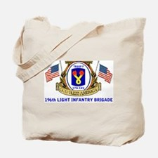 TROOP F, 17th CAVALRY Tote Bag