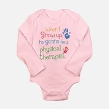 Kids Future Physical Therapist Long Sleeve Infant