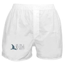 Oh -- Yes. Boxer Shorts