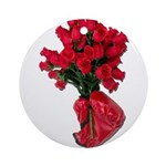 Tough Love Roses Ornament (Round)