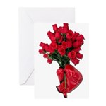 Tough Love Roses Greeting Cards (Pk of 20)