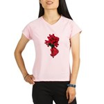 Tough Love Roses Performance Dry T-Shirt