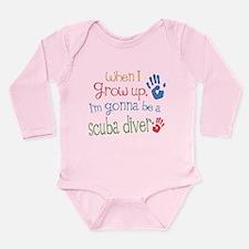 Future Scuba Diver Long Sleeve Infant Bodysuit