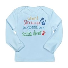 Future Scuba Diver Long Sleeve Infant T-Shirt