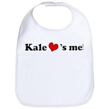 Kale loves me Bib