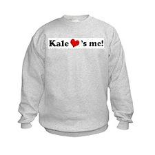 Kale loves me Sweatshirt