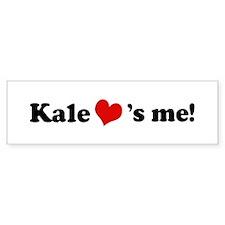 Kale loves me Bumper Bumper Sticker