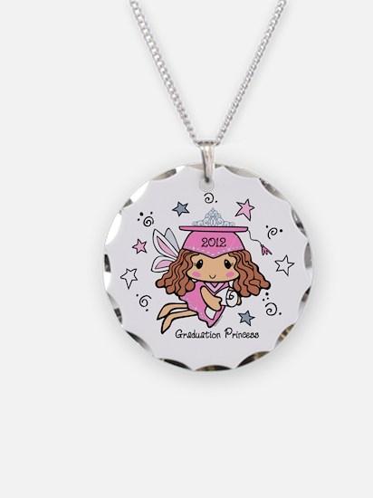 Graduation Princess 2012 Necklace Circle Charm