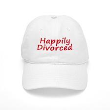 happily Divorced Baseball Cap