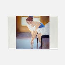 Little Ballerina, Ballet Them Rectangle Magnet