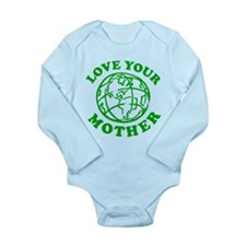 Love your Mother Long Sleeve Infant Bodysuit