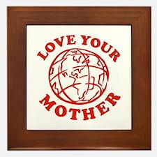 Love your Mother Framed Tile