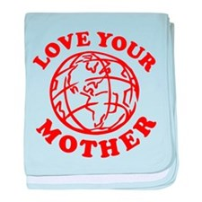 Love your Mother baby blanket