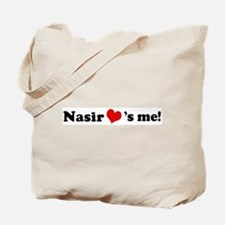 Nasir loves me Tote Bag