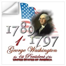 1st President Wall Decal